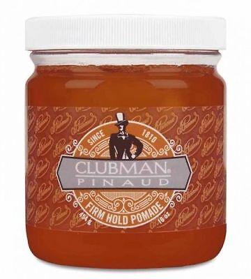 - Clubman Pinaud Firm Hold Pomade 16oz. Jar, BRAND NEW