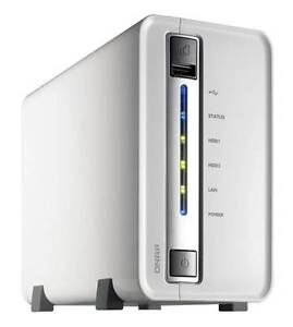 QNAP TS-210 2-bay NAS network storage server (up to 6TB) Haberfield Ashfield Area Preview
