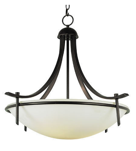 "Trans Globe Indoor Vitalian 26"" Pendant Chandelier Model 8177 Rubbed Oil Bronze"
