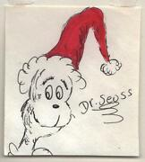 Dr Seuss Signed