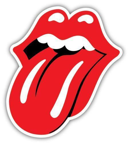 Rolling Stones Tongue Sticker Ebay