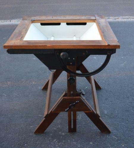 Industrial Drafting Table Ebay