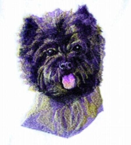 Embroidered Sweatshirt - Cairn Terrier BT3601 Sizes S - XXL