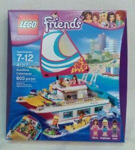 BRAND NEW LEGO Friends Sunshine Catamaran 41317 (603 pieces)