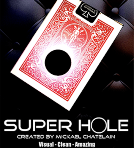 by Mickael Chatelain Trick SUPER HOLE RED