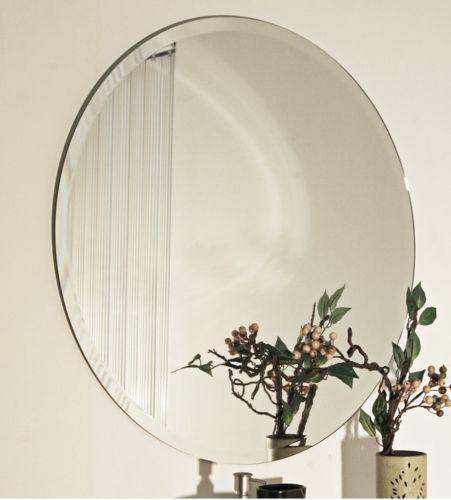Frameless Beveled Wall Mirrors Ebay
