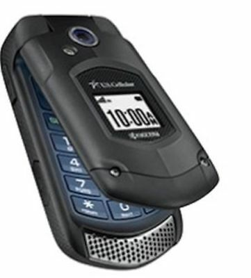 NEW Kyocera DuraXA E4510 (US CELLULAR Only) Black Camera Rugged Flip Phone