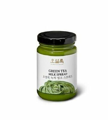 [OSULLOC] Green Tea Milk Spread Jam Matcha Cream 200g