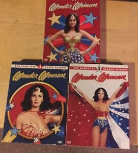 Wonder Woman The Complete Series! Season 1 2 3 Collection (3 DVD