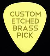 Brass Guitar Pick