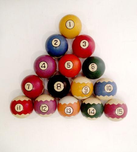 Vintage Pool Table Light Ebay: Antique Billiard Balls