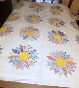 Vintage Feedsack Quilt Top