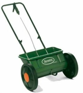 Scotts Speedy Green 3000 lawn spreader in good condition