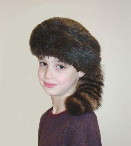 Coonskin Hat: Raccoon Hat