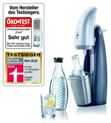 sodastream penguin trinkwassersprudler ebay. Black Bedroom Furniture Sets. Home Design Ideas