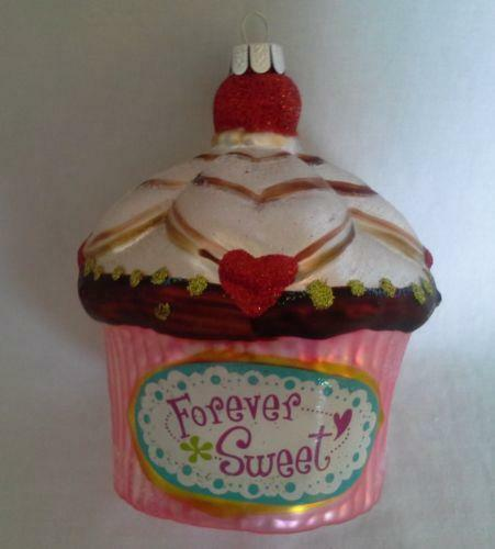 Cupcake ornament ebay