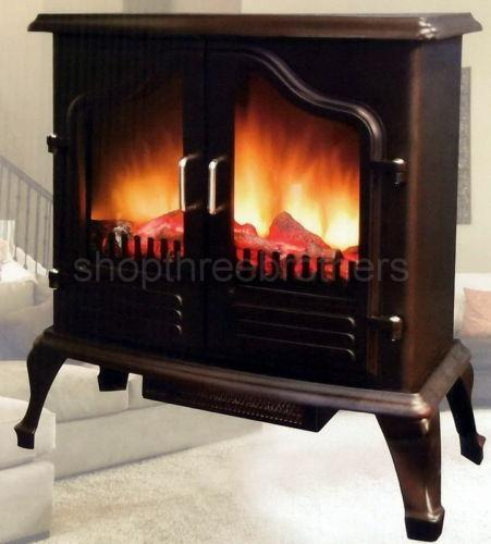 Portable Electric Fireplace Ebay