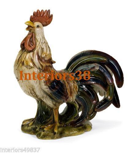 Italian Ceramic Rooster