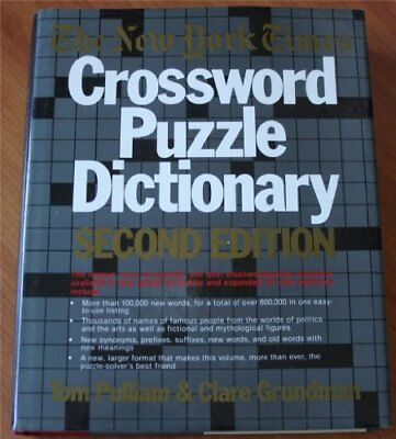 B000olx9ty The New York Times  Crossword Puzzle Dictionary