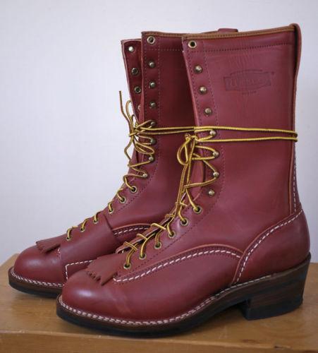 Wesco Highliner Boots Ebay