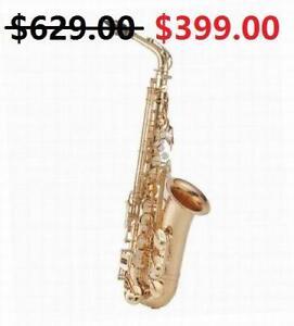 Saxophones Alto Sax, Tenor Sax, Soprano Sax www.musicm.ca Brand New Instrument With Warranty