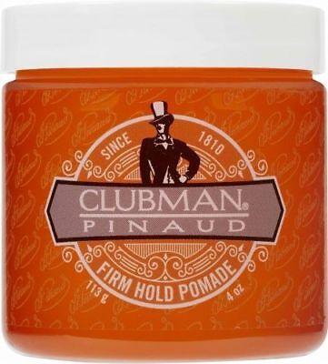 - Clubman Pinaud Firm Hold Pomade 4oz. Jar, BRAND NEW
