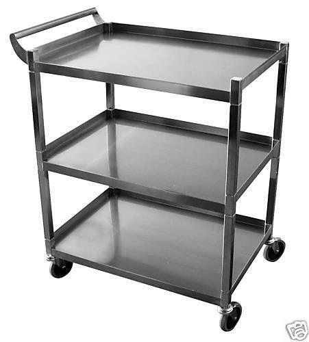 Attrayant Stainless Steel Utility Cart | EBay