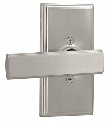 Weslock 3705PN Satin Nickel Single Dummy Door Lever - Weslock Utica Satin