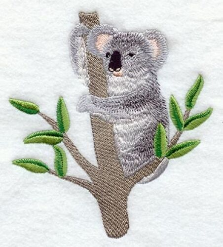 Embroidered Sweatshirt - Koala M1947