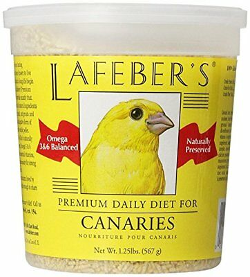 Canary Pellets - NEW Lafeber Company Canary Pellets Premium Daily Diet Pet Food 1.25 Pound