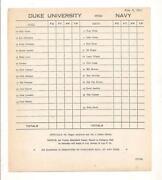 Duke Program