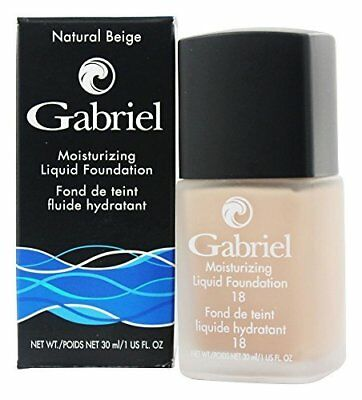 - Gabriel Cosmetics - Color Moisturizing Liquid Foundation - Natural Beige