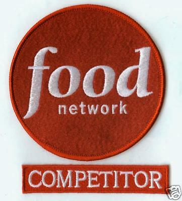 FANCY DRESS HALLOWEEN COSTUME PARTY FOOD NETWORK COMPETITOR 2-PATCH - Food Network Halloween Costumes