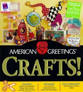 American Greetings Crafts! (PC, Program) Windows (1998)