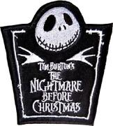 Nightmare Before Christmas Patch