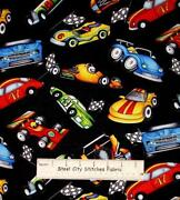Race Car Fabric