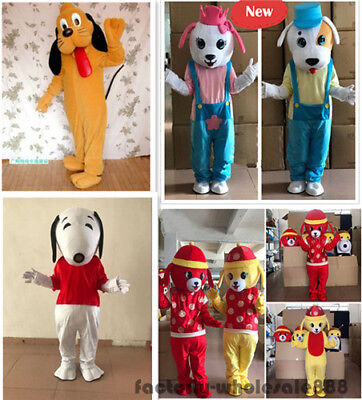 Halloween Dog Mascot Costume Party game Fancy Dress Adult Size  Free shipping  - Dog Halloween Party Games