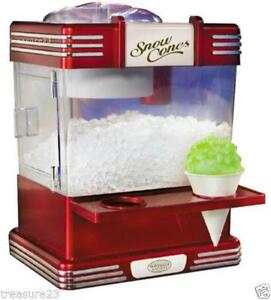 Snow Cone Machine Ebay
