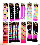 Neon Knee High Socks