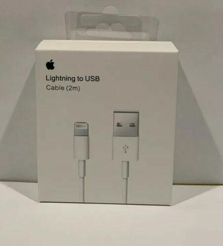 Genuine Original OEM Apple iPhone 11 X 8 7 Lightning USB Cable Charger 2m - 6FT
