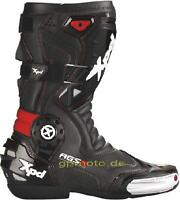 NEW, Spidi XP7-R Motorcycle Boots, Ankle Protection Black & Red