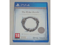 SONY PLAYSTATION PS4 GAME THE ELDER SCROLLS TAMRIEL UNLIMITED EXPLORER'S PACK.
