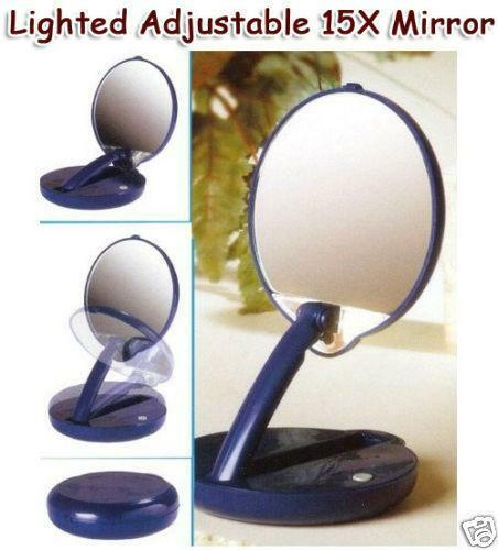 Lighted Mirror Makeup Case Ebay