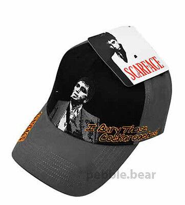 NEW TONY MONTANA HAT SCARFACE MOVIE COCKAROACHES TM CAP