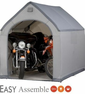 Outdoor Storage Sheds House XXL Plastic Easy Building Tools Box Garage Portable
