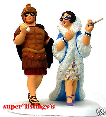 Dept. 56 The Life Of The Party Couple dressed in 1920's Costumes CIC 58970 (Life Of The Party Costume)