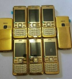 Nokia 6300 - Gold (Unlocked) Mobile Phone + shop warranty