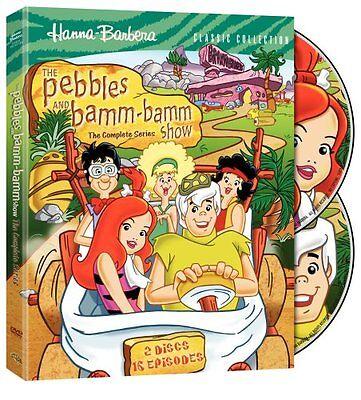 Pebbles And Bamm-Bamm Show Complete Series Flintstones DVD 2008 2-Disc Set NEW
