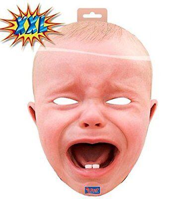 Babymaske XXL Schreiendes Baby Maske Karneval Halloween (Baby Maske Halloween)