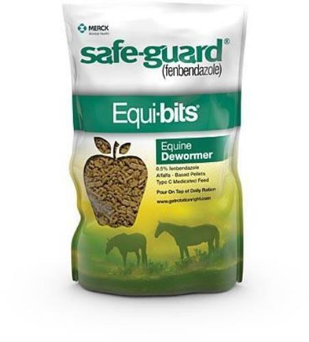 Safe-Guard® Equi-bits® Horse Wormer